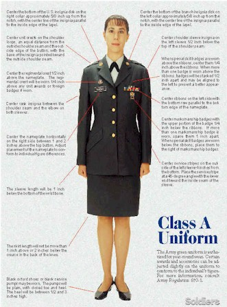 Army Dress Uniforms - Class A Uniforms